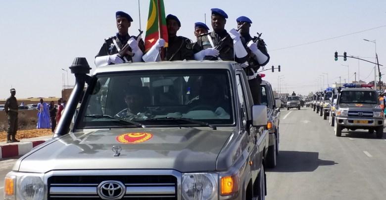 """صورة نواكشوط : الحرس يغلق الطرق المؤدية الي شارع الوحدة الوطنية  """"تفاصيل"""""""