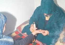 صورة مشعوذ ينصب على سيدة من أسرة غنية في تفرغ زينة ويختفي
