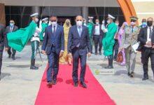"""صورة رئيس الجمهورية محمد ولد الشيخ الغزواني يغادر الي أنجامينا لحضور قمة قادة G5 """"تفاصيل"""""""
