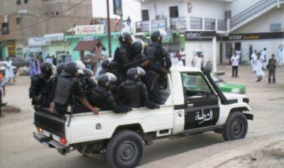 صورة نواكشوط: مجموعات  غاضبة تحاول اقتحام قصر العدالة