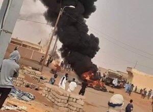 """صورة احتجاجات شعبية غاضبة في """"الطينطان"""" على خلفية انقطاع المياه والكهرباء (صور)"""